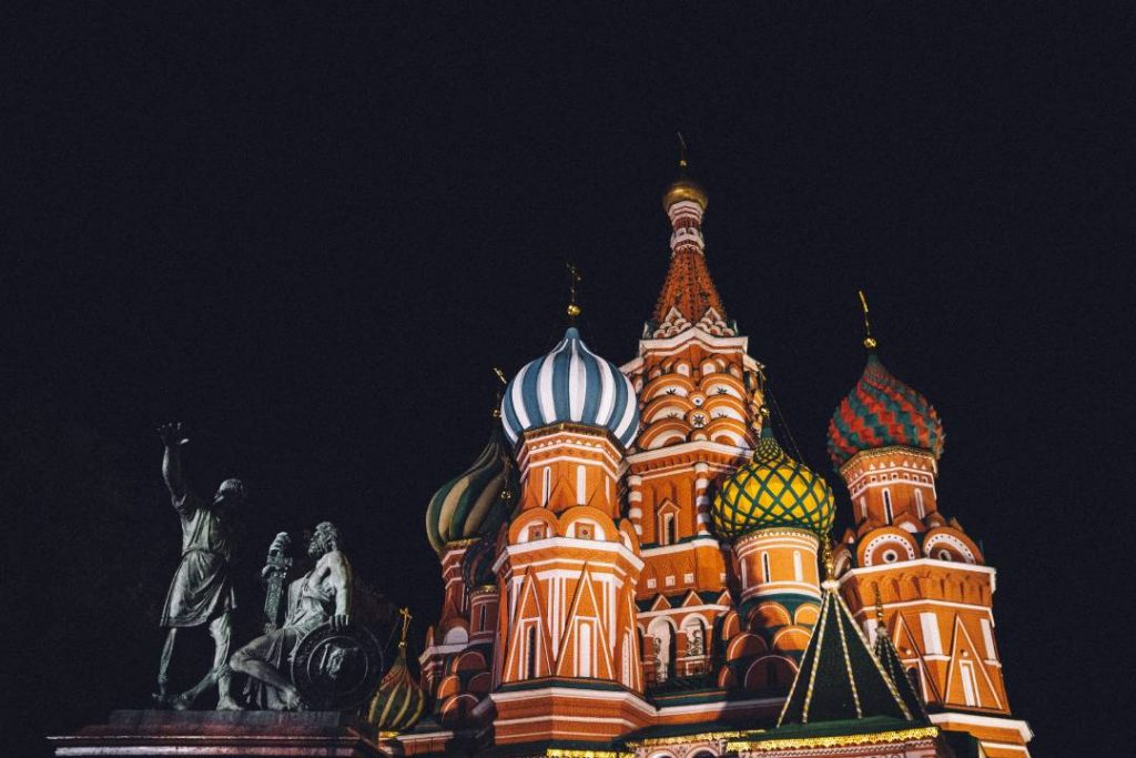 International Moving Company to Russia